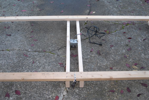 Attach Motor Support to Frame