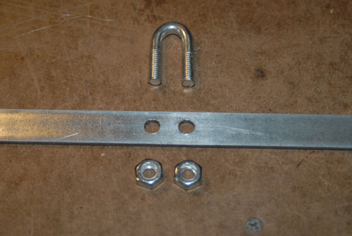 Steel Bar and U Bolt