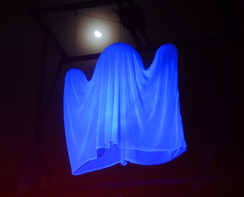 Flying Crank Ghost by Moonlight