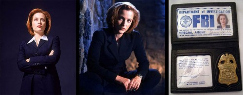X Files Dana Scully Costume