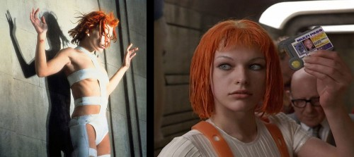 5th Element Leeloo Costume
