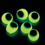 Glow in the Dark Sticky Eyes