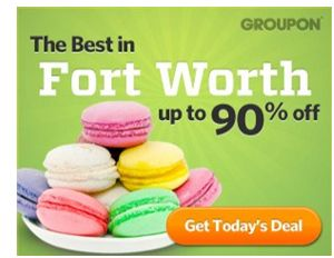 Colored Things In Groupon Ads