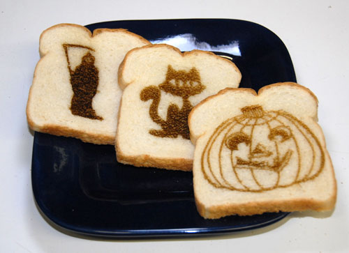 The Halloween Toast Collection