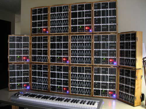 MMM Wall of Synth
