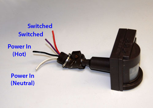 Motion Sensor with Switched Output