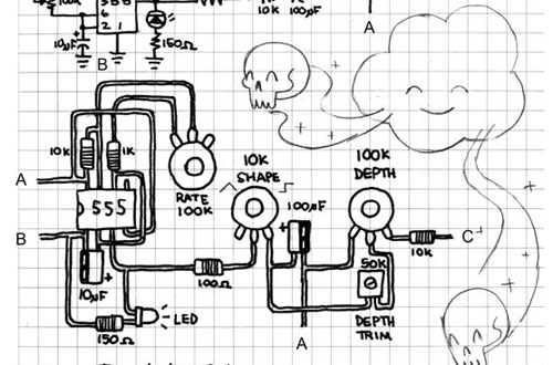 circuit bending schematics modd3d With circuit bend 1