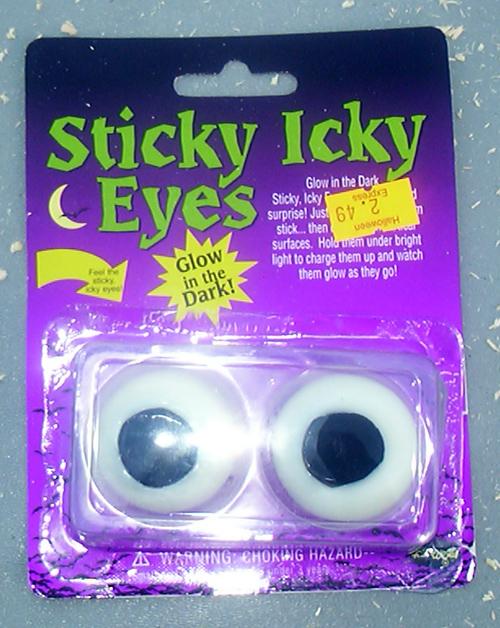 Sticky Icky Eyes