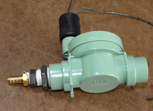 Valve Output Fittings