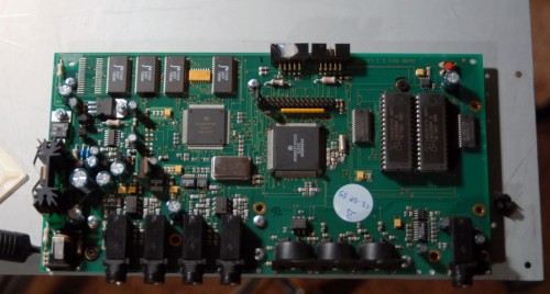 Waldorf Microwave XTk Board Top